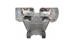 Protección de bajos central Aluminio RZR 800