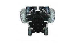 Kit completo de protecciones de bajos Polietileno RZR 800 S