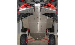 Kit completo de protección de bajos Aluminio RZR 900 XP