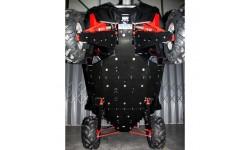Kit completo de protección de bajos Polietileno RZR 900 XP 2011