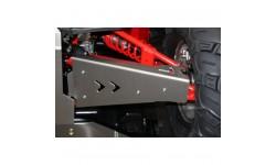 Protecciones trapecios delanteros Aluminio RZR XP  900 2011