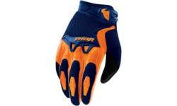 Thor Spectrum Gloves NAVY / ORANGE MEDIUM