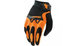 Thor Youth Spectrum Gloves Orange/Black