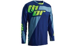 Thor Core Jersey Merge Navy/Lime