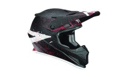 Casco Thor SECTOR™ HYPE S8S OFFROAD HELMET BLACK/CORAL MEDIUM
