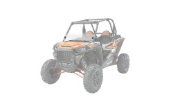 Lock & Ride® Half Windshield - Hard Coat Poly RZR